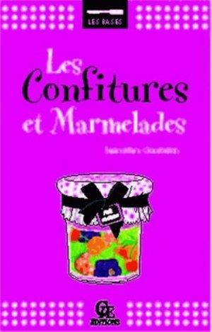 Les confitures et marmelades - CPE - 9782365722452 -