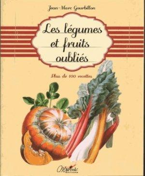 Les légumes et fruits oubliés - marivole  - 9782365750448 -