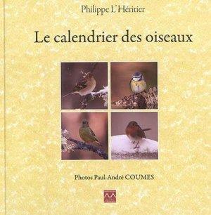 Le calendrier des oiseaux - des monts d'auvergne - 9782366540864 -