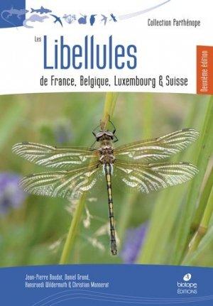 Les libellules de France, Belgique et Luxembourg - biotope - 9782366621761 -