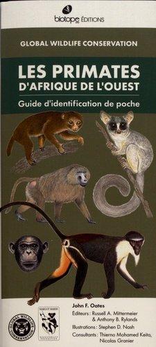 Les primates d'afrique de l'ouest - biotope - 9782366622430 -