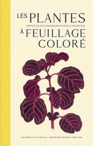 Les plantes à feuillage coloré - bibliomane - 9782367430454 -