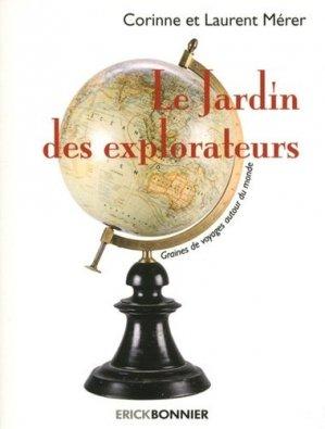 Le jardin des explorateurs - erick bonnier - 9782367600710 -