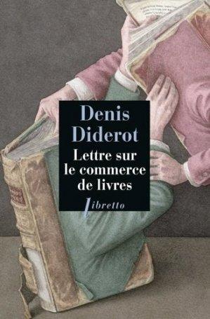 Lettre sur le commerce de livres - Libretto - 9782369145752 -