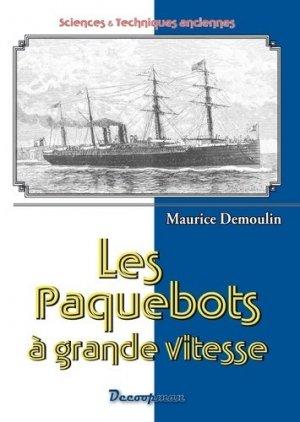 Les paquebots - decoopman  - 9782369650140 -