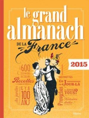 Le grand almanach de la France - editions - 9782371090033 -
