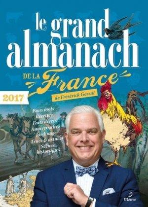 Le grand almanach de la France - editions - 9782371090361 -