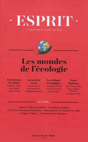 Les mondes de l'écologie - esprit - 9782372340380 -