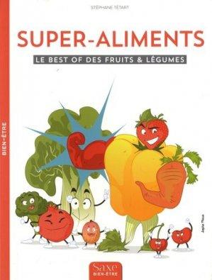 Les supers aliments - de saxe - 9782376300175 -