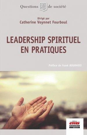 Leadership spirituel en pratiques - ems - 9782376874591 -
