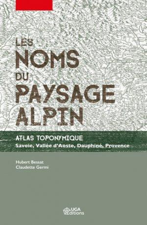 Les noms du paysage alpin - uga - 9782377470709 -