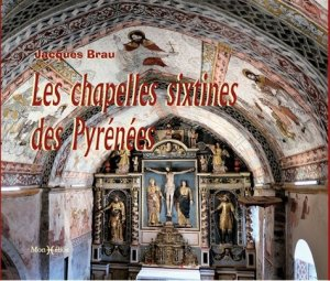 Les chapelles Sixtines des Pyrénées - monhelios - 9782378950040 -