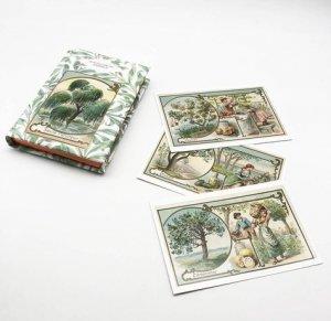 Le Petit Livre des Arbres + Cartes Postales - epa - 9782379640902 -