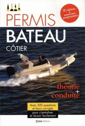Le permis bateau côtier 2020 - casa - 9782380580198 -