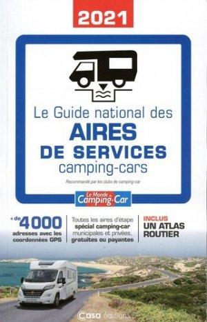 Le guide national des aires de services camping car - casa  - 9782380581485 -