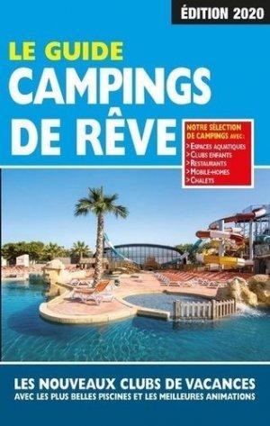 Le guide campings de rêve 2020 - regicamp - 9782380770025 -