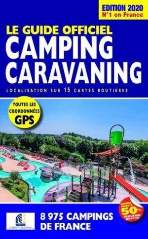 Le Guide Officiel Camping Caravaning - regicamp - 9782380770049 -