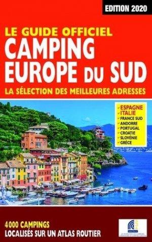 Le guide officiel camping Europe du Sud. Edition 2020 - Regicamp - 9782380770070 -