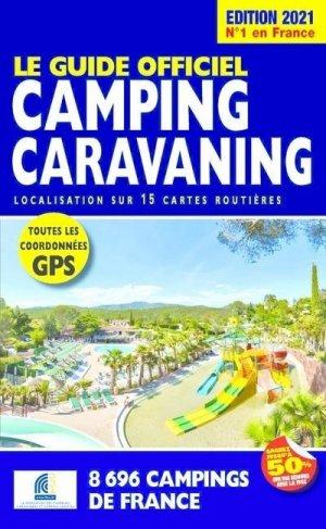 Le Guide Officiel Camping Caravaning - Regicamp - 9782380770124 -