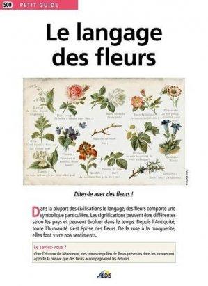 Le langage des fleurs - Aedis - 9782381480060 -