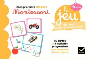 Le jeu Montessori des sons et des premiers mots - hatier - 9782401051553