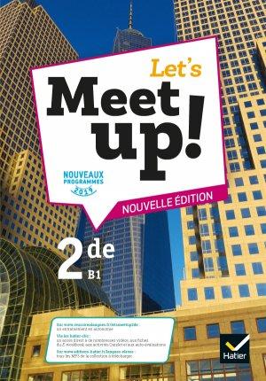 Let's Meet up ! - Anglais 2de - hatier - 9782401053199 -