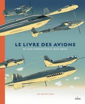 Le livre des avions - milan - 9782408019754 -