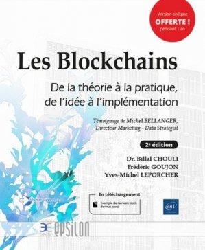 Les Blockchains - eni - 9782409022050 -
