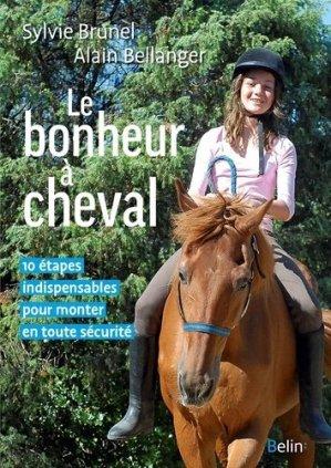 Le bonheur à cheval - belin - 9782410003659 -