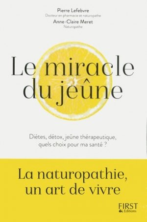 Le Miracle du jeûne - first  - 9782412028179 -