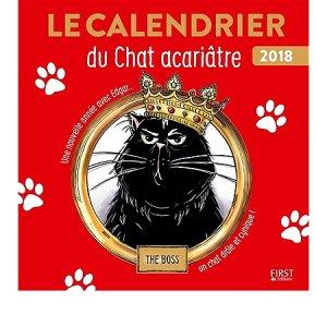 Le calendrier du chat acariâtre, le retour - first  - 9782412029152 -