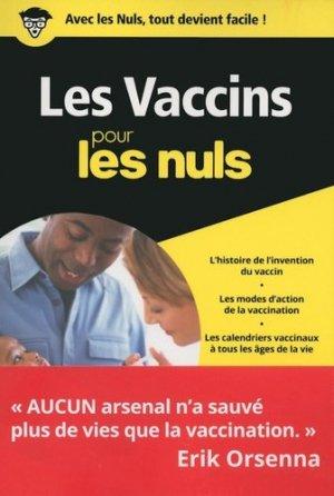 Les vaccins pour les Nuls poche - first - 9782412029718 -