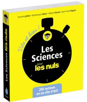 Les sciences pour les nuls - first editions - 9782412031100 -