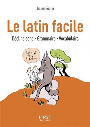 Le latin facile - first  - 9782412038963 -