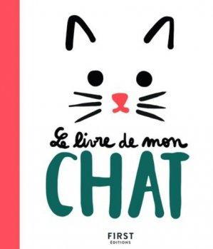 Le livre de mon chat - first editions - 9782412040119 -
