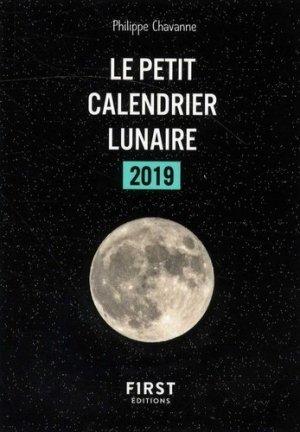 Le petit calendrier lunaire 2019 - first - 9782412040379
