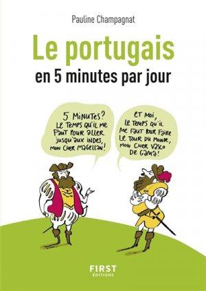Le portugais en 5 minutes par jour - first - 9782412040812 -