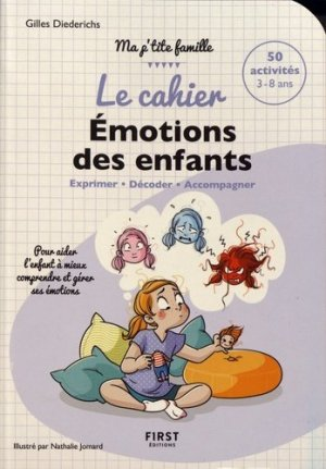Le cahier émotions des enfants - first - 9782412041093 -