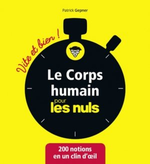Le corps humain pour les Nuls - first editions - 9782412044438 -
