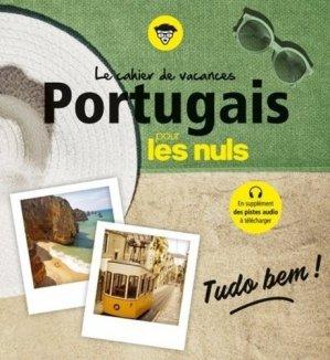 Le cahier de vacances Portugais pour les nuls - First - 9782412044629 -