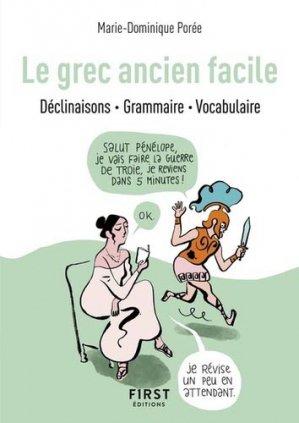 Le Petit Livre : Le Grec Ancien Facile - first - 9782412048122 -