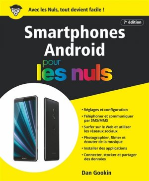 Les smartphones android pour les nuls - First - 9782412048665 -