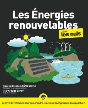 Les énergies renouvelables pour les Nuls - first editions - 9782412050521 -