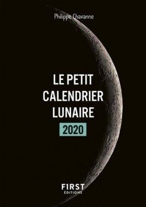 Le petit calendrier lunaire - first - 9782412051061 -