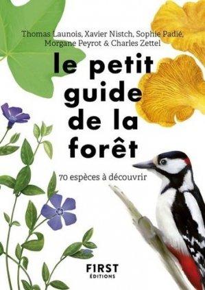 Le petit guide d'observation de la forêt - first - 9782412057988 -