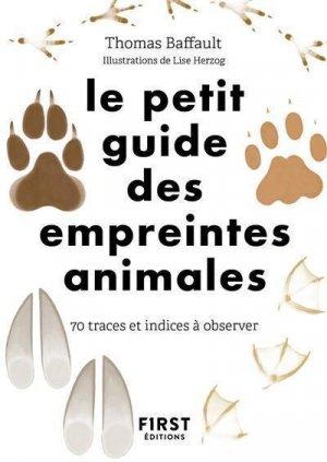Le petit guide d'observation des empreintes - first editions - 9782412057995 -