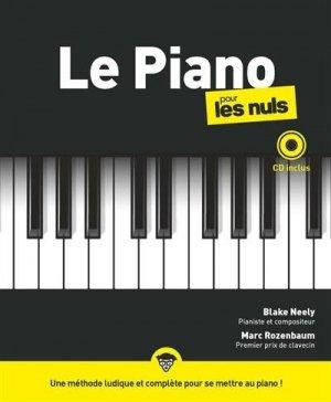 Le piano pour les Nuls - First - 9782412059876 -