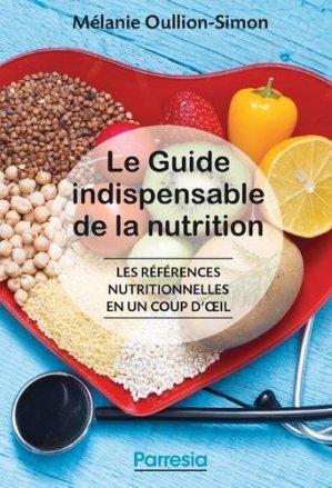 Le guide indispensable de la nutrition - edp sante - parresia - 9782490481255 -