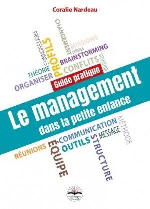 Le management dans la petite enfance - philippe duval - 9782490737079 -