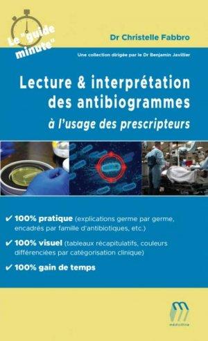 Lecture & Interprétation des antibiogrammes - medicilline - 9782492552021 -